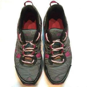 Asics Womens Sneakers Magenta Running Shoes Sz 9.5